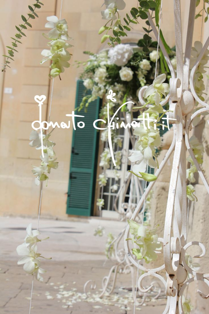 #Dendrodium #FestoniDiFiori #Matrimonio #FloralArrangements #Style #Apulia #CandelieriFrancesi #DonatoChiriatti