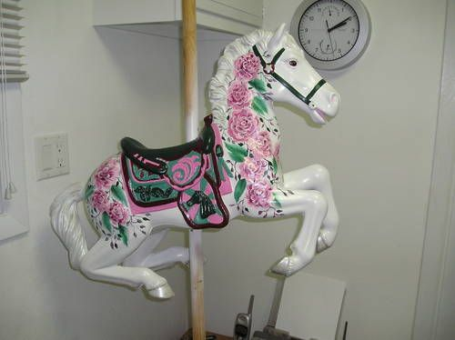 Carousel Horse From A Child S Toy Eight Photos Diy Home Pinterest Home Rocking Horses