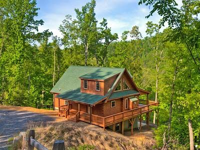 Black mountain cabin rentals blue bear cabin vacation for Asheville nc lodging cabins