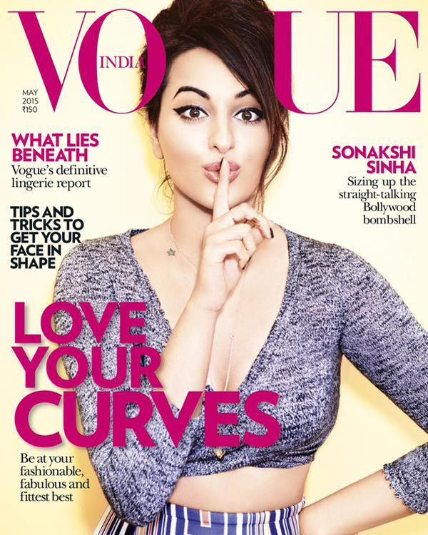 Sonakshi Sinha keeps it playful while on the cover of Vogue!