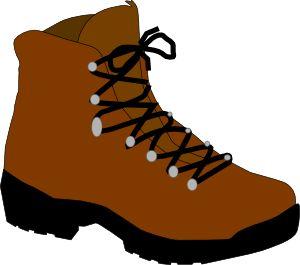 Hiking Boot clip art - vector clip art online, royalty free & public domain