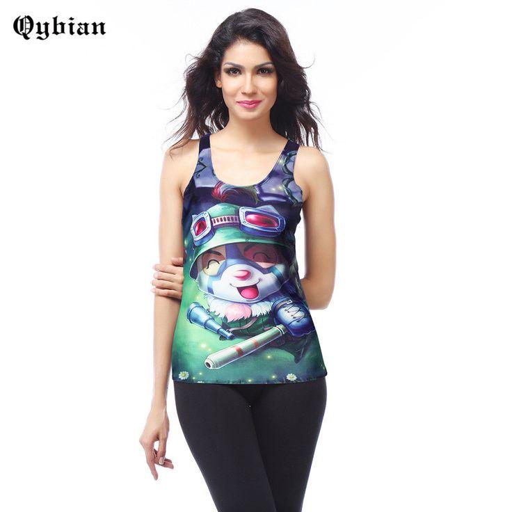 >> Click to Buy << Qybian Women tank top 2017 summer Balloon cartoon animal Print Women tops & tees Sleeveless Shirt women tank sexy vest top femal #Affiliate