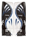 Reebok Larceny L7 Jr. Goalie Leg Pads - Hockey Goalie Equipment