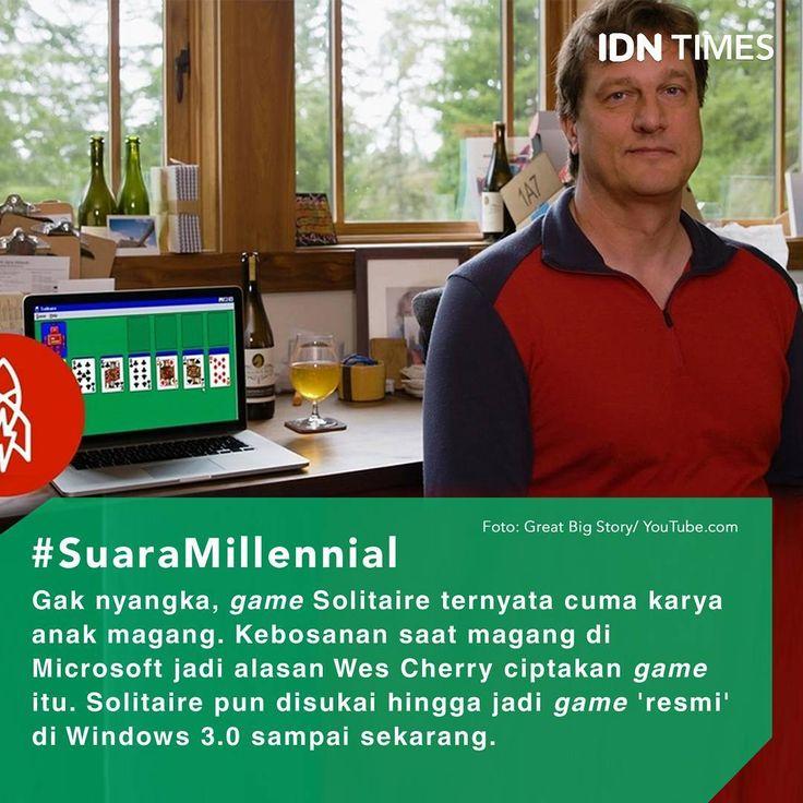 Hampir semua orang pasti gak asing sama games Solitaire. Itu lho, #games keren dan candu yang mulai muncul di #Windows 3.0 berupa permainan kartu. . Hampir semua pengguna perangkat berbasis OS Windows pasti pernah mencicipi games yang kini sudah hadir dalam bentuk aplikasi #iOS dan #Android ini. . Namun tahkah kamu, games legendaris yang resmi dirilis pada 1990-an itu ternyata bukanlah buatan teknisi Microsoft lho! Melainkan buatan anak magang yang merasa bosan ketika melakukan aktivitas…