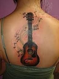 Musical tattoos are so cool.