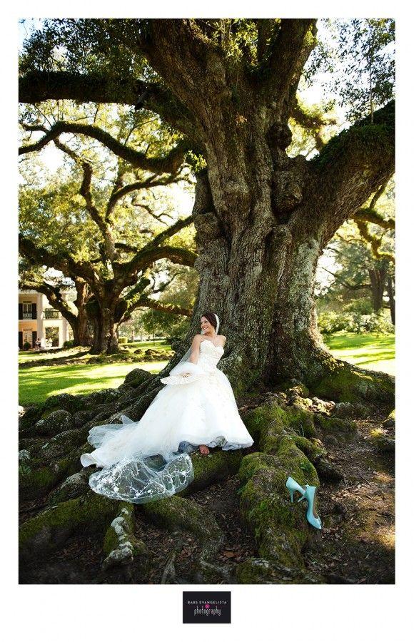 Oak Alley Plantation wedding (photography by Babs Evangelista)
