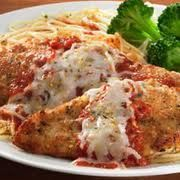 """Chicken Parmesan - not sure why this was in my """"may attempt"""" files...definitely a staple in the house now. Ramon's favorite."""