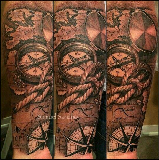 38 best kompass tattoo images on pinterest tattoo ideas map tattoos and tattoo designs. Black Bedroom Furniture Sets. Home Design Ideas