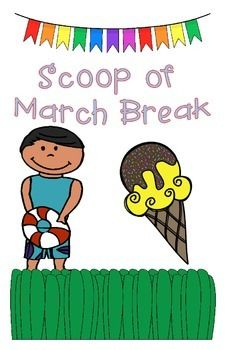 Looking for a way to recap the student's March Break when they return to school? Here's a great way for all students to share what they did!For students in KG, grade 1, 2, and 3, they can draw their responses into the scoops of ice cream and cone!For students in grade 4, 5, 6, they can write their responses into the scoops of ice cream and cone. **You must print this activity on tabloid sized paperOnce they have filled in all three shapes, they can cut it out, glue it together, and add to…
