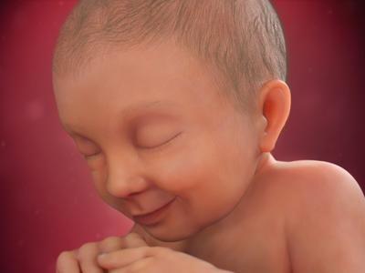 Na maioria dos casos, com 37 semanas, a cabeça do bebê já está encaixada na cavidade pélvica. Veja como ele está posicionado na figura interativa do BabyCenter.