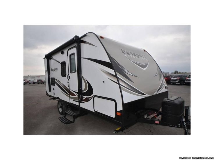 Condition: New 	 	 	Year: 2017 	 	Make: Keystone Rv 	 	Model: Passport Express 175BH 	 	 	Class: Travel Trailer 	 	 	Location: Haleyville, AL 	 	Fuel Type: NONE 	 	Gross Vehicle Weight: 3,160 	 	 	Sleeping Capacity: 6 	 	 	Air Conditioners: 1 	 	 	Awnings: 1 	 	 	Length: 21 	 	 	Leveling Jacks: Y 	 	 	Self Contained: Y 	 	2017 Keystone RV Passport Express 175BH, 2017 Keystone Passport Express 175 BH, FULL SIZE TRAVEL TRAILER - Most single axle travel trailers are narrow body (as little as…