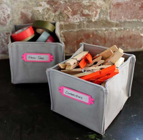 коробки из ткани своими руками