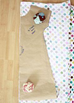 Girl tunic dress pattern