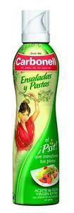a aceite oliva virgen extra spray para ensaladas y pastas con esencia de albahaca