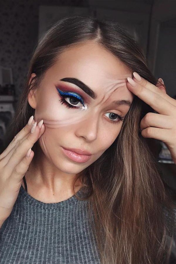 Special Effects Makeup Artist Subtly Transforms Her Face Into Striking Illusions Special Effects Makeup Artist Special Effects Makeup Makeup Artist Jobs