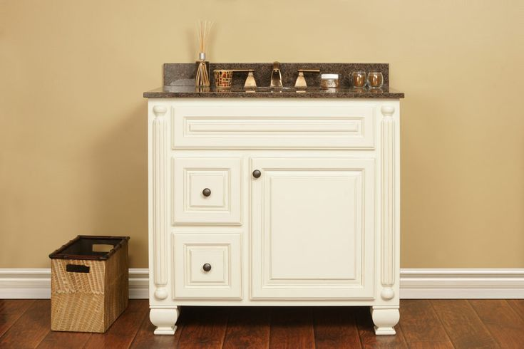 Vintage White Vanities - Discount RTA Bathroom Cabinets - Kitchen Cabinets | In Stock Kitchens | Kitchen Cabinet Outlet | Wholesale Kitchen Cabinets - Vintage White Vanities - Discount RTA Bathroom Cabinets