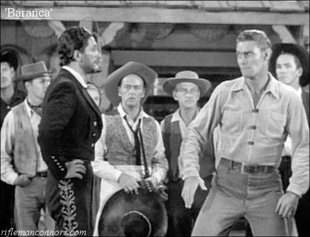 the rifleman fight | Isn't he adorable in 'Baranca' when Lucas gets ready to fight Baranca ...