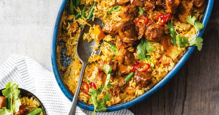 This generous one-pan pork curry is the ultimate winter warmer.