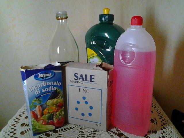 Detergenti naturali ed economici fatti in casa
