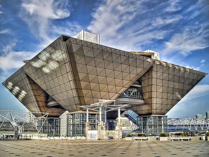 東京ビッグサイトの美しい建築