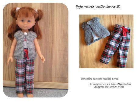 """tuto pyjama """"les chéries"""""""