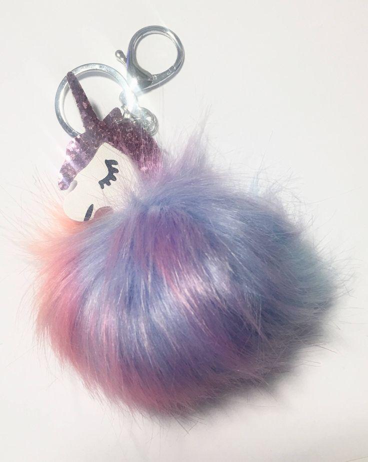 A personal favourite from my Etsy shop https://www.etsy.com/uk/listing/573838147/unicorn-key-ring-pompom-unicorn-key-ring