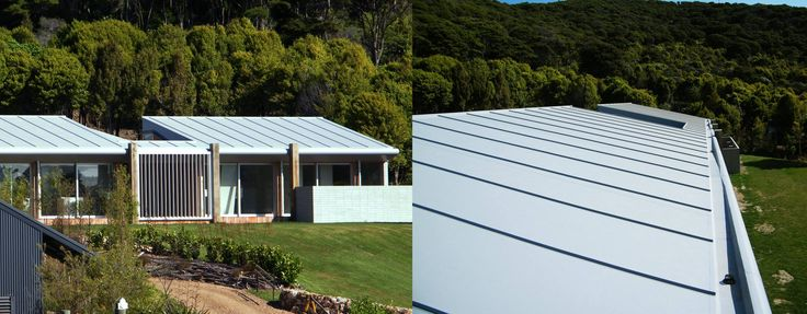 Waiheke property with sustainable Viking Enviroclad Roof.