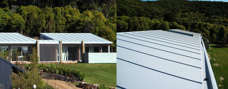 Waiheke property with sustainable Viking Enviroclad Roof.