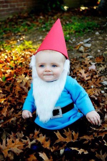 Garden Gnome -- Kids halloween costume DIY   Kid Craft ...