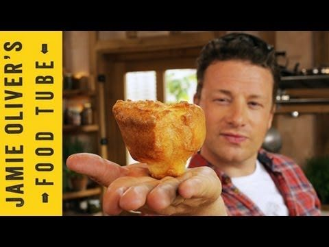 How To Make Yorkshire Puddings | Jamie Oliver Made these tonight. They were so incredibly good and pretty easy to make.