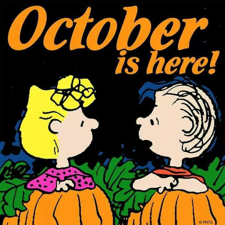 It's time for the Great Pumpkin!