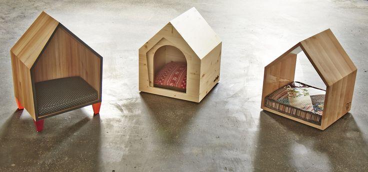 Legowiska dla psów, buda dla psa, nowoczesne meble dla psów. Zobacz więcej na: https://www.homify.pl/katalogi-inspiracji/13318/pomysly-na-prezenty-dla-milosnikow-zwierzat
