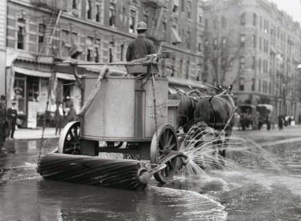 Vintage NYC Street Cleaner