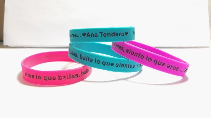 pulseras de silicona #pulseraspersonalizadas #anatendero