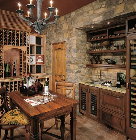 want this wine room!