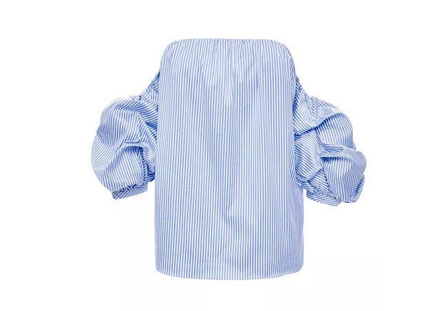 Blusa de rayas de Johanna Ortiz