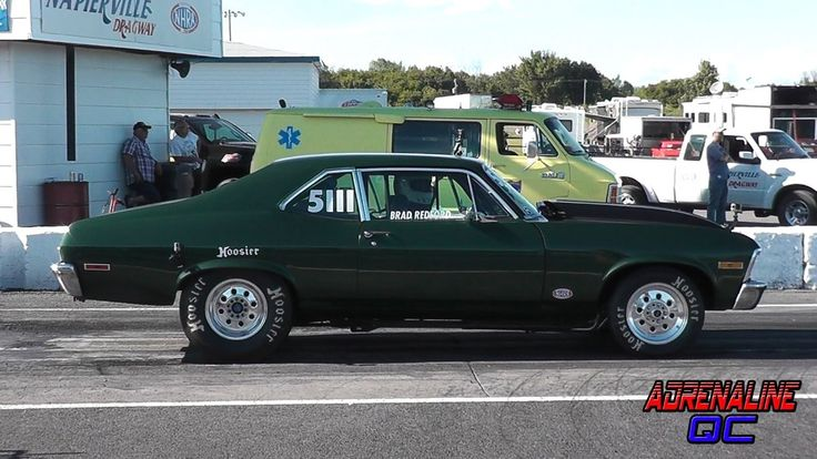 1970 Chevy Nova SS Big Block NHRA National Open Brad Redford