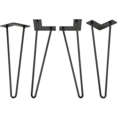 10 places to buy metal hairpin table legs - raw steel, stainless steel, rebar, powder coated & more - Retro Renovation