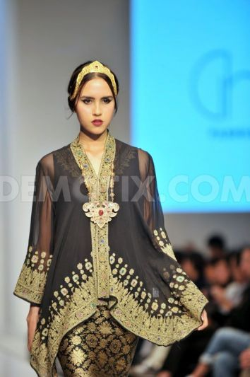A divine garment from Ghea Panggabean's Indonesia collection for Kuala Lumpur Fashion Week, June 2014