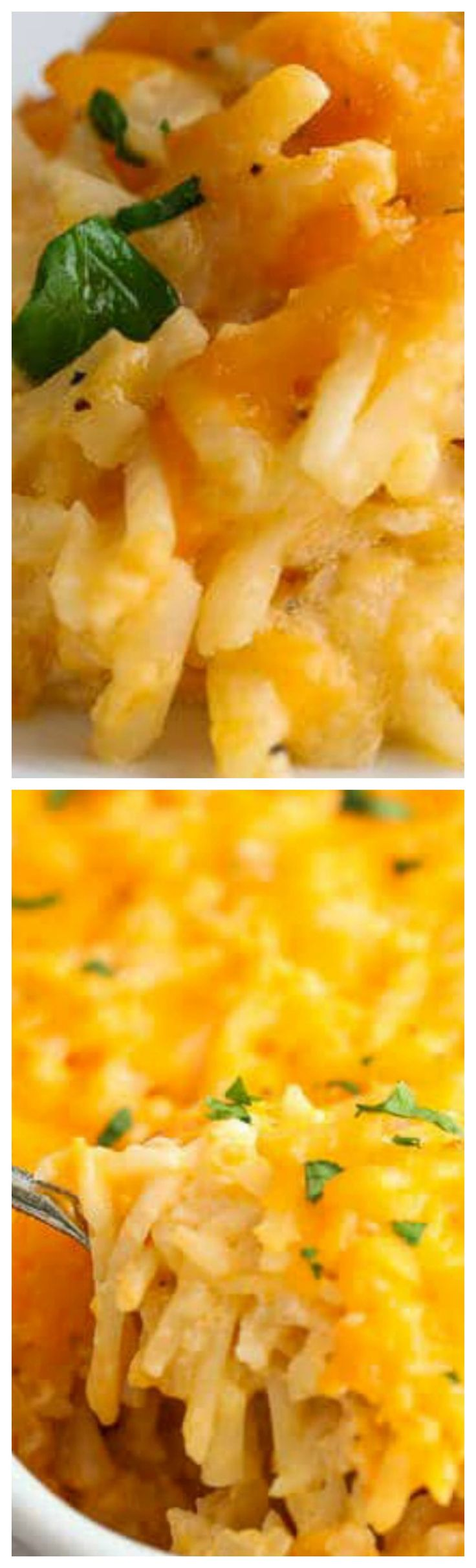 Copy Cat Cracker Barrel Hashbrown Casserole ~ The closest to the real recipe you can find... This cheesy breakfast casserole is perfect to feed a crowd!