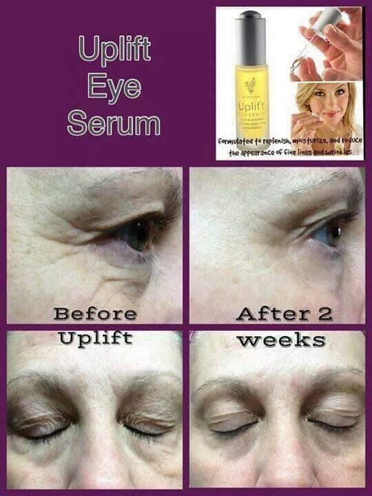 Do you have those wrinkles on your eyes? Try our amazing uplift eye serum! 14 day return policy if you don't like it! order today! www.fabulouslashesnow.com  #eyes #serum #uplift #lov #younique #wrinkles #young #old #looks