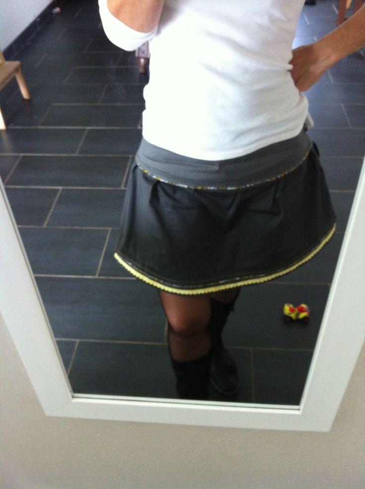 Une jupe pour moi sur le tuto de Papillon & mandarine