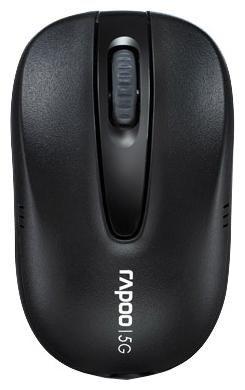 Компьютерная мышь Rapoo 1070P black USB  — 700 руб. —  беспроводная мышь, интерфейс USB, для ноутбука, светодиодная, 3 клавиши, разрешение сенсора мыши 1000 dpi