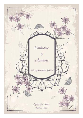 un livret de messe mariage sur le thme vintage rtro champtre personnalisez ce - Livret De Messe Mariage Pdf