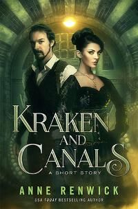 Kraken and Canals designed by James T. Egan of Bookfly Design | DDD: The composition is outstanding, elements merge well, and the font choices suit the genre flawlessly. We expected nothing less from Bookfly. ★