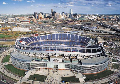 Sports Authority Field at Mile High. We love being a part of Broncos Nation! #GoBroncos #UnitedInOrange