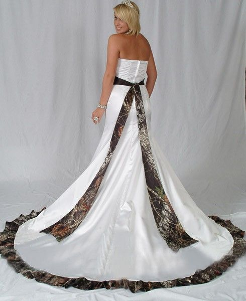 camo wedding dresses for cheap beautiful extravagant mermaid strapless camo wedding dress 2401