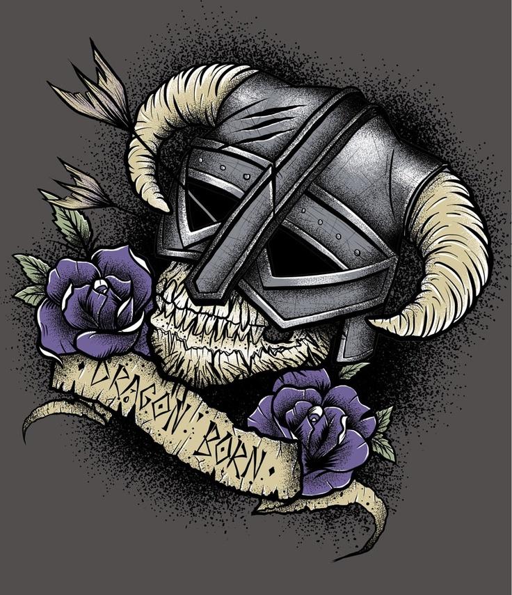 Skyrim Tattoo Stencil: Pinterest: Discover And Save Creative Ideas