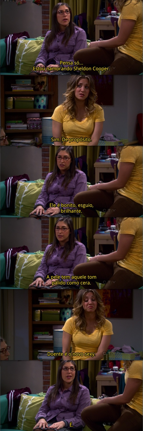 """Sick is the new sexy"" (TBBT, S05E19)"