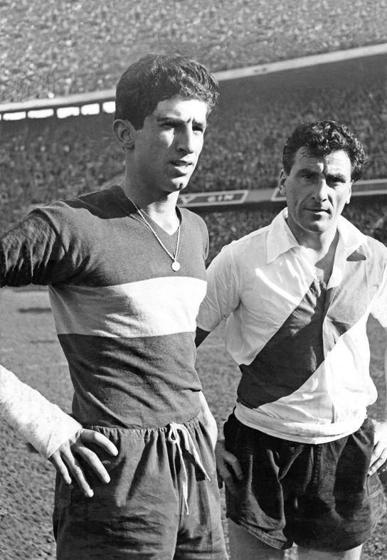 "Antonio Rattin y Nestor ""Pipo"" Rossi"